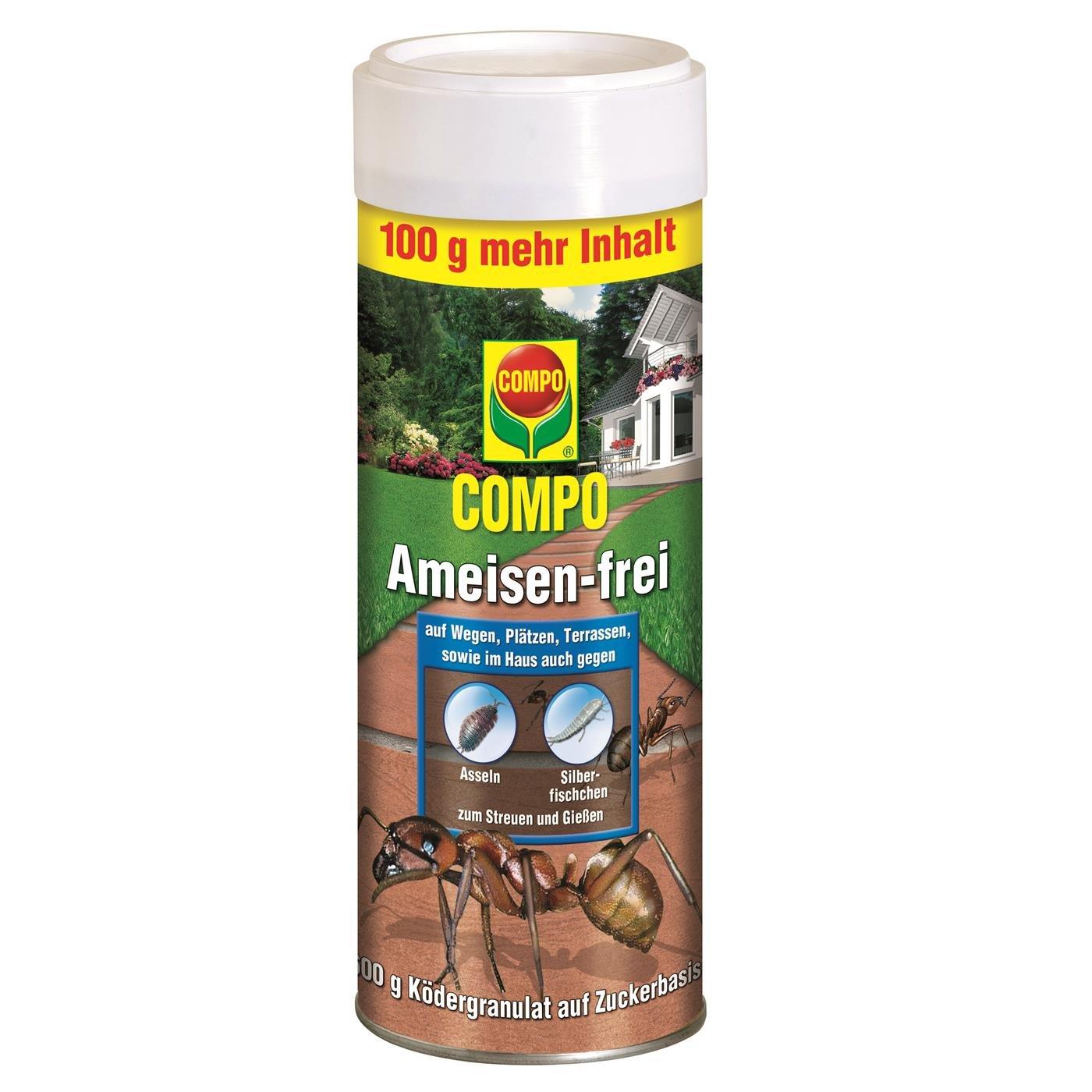 COMPO Ameisen-frei, Staubfreies Ködergranulat mit Nestwirkung, 300 g 16484 B0007VK1WY Insektenschutz