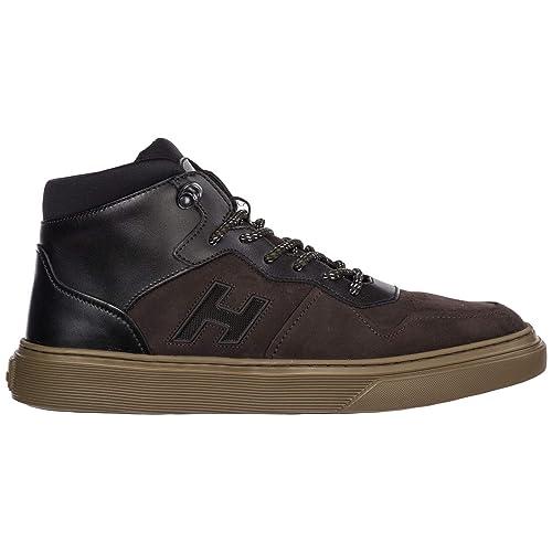 100% top quality 100% quality official photos Amazon.com | .Hogan Men h365 high-top Sneakers Marrone 11 US | Shoes