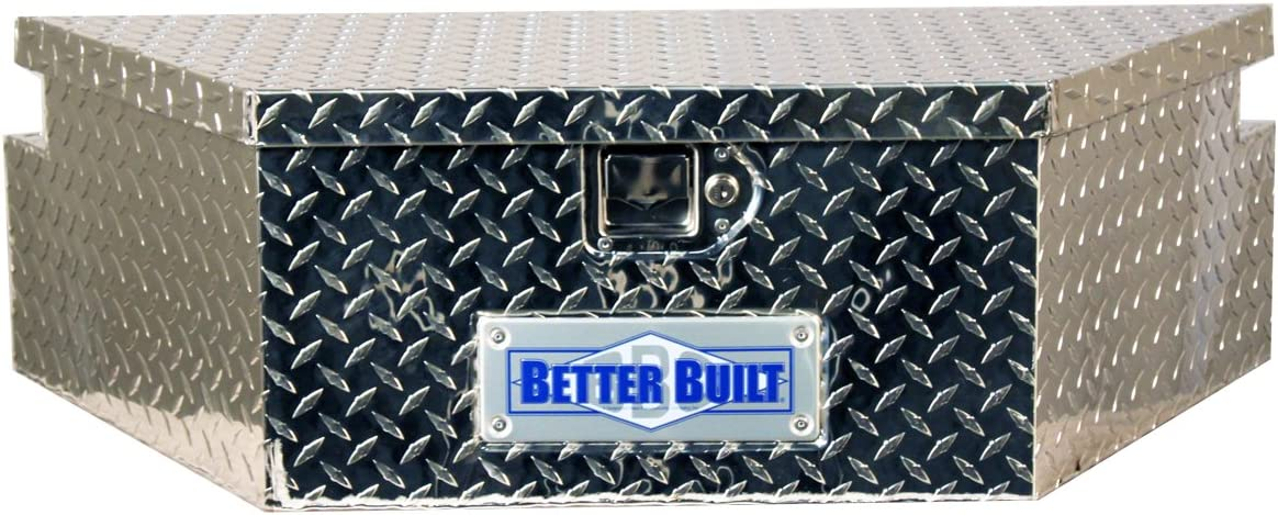 x W 16.5 in Better Built 66010148 Utility Trailer Tongue Tool Box L 39 in x H 12 in Brite Aluminum Wide Utility Trailer Tongue Tool Box