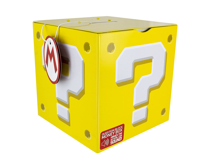 Super Mario Question Block Tirelire, Multicolore Paladone PP3433NN