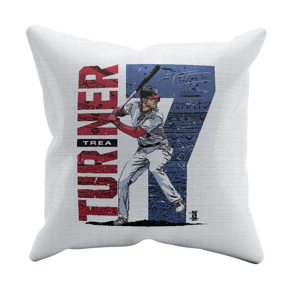 Trea Turner Stadium 500 LEVEL Trea Turner Washington Baseball Pillow
