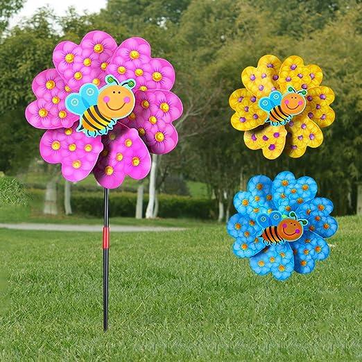 XTYaa Molino de viento de dibujos animados para decoración del ...