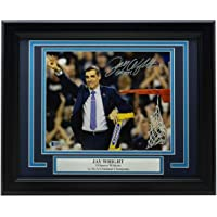 """$183 » Jay Wright Villanova Signed Framed 8x10 Photo""""Go Cats"""" Inscribed BAS - Beckett Authentication - Autographed College Photos"""