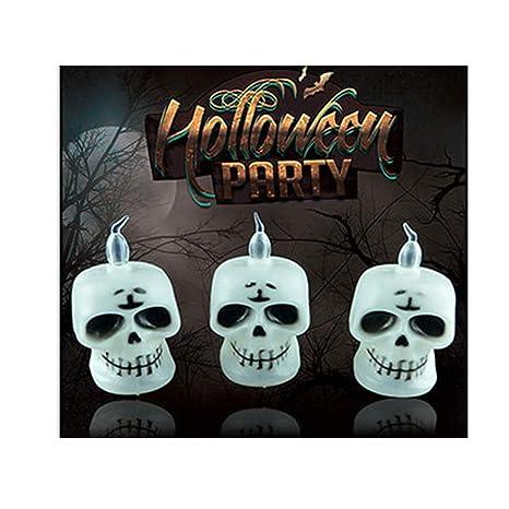 SonMo Decoracion Halloween Infantil Linterna de Halloween ...