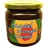 Mandel-Nougat-Creme 400 g (43,7% Mandeln), mit Xylit aus Finnland gesüßt, vegan, ohne Zuckerzusatz
