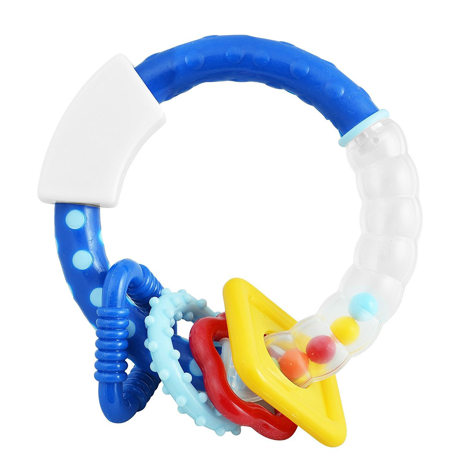 Baby Rattle Toy Colourful Musical Sounds Rattling Bfa Child Kid Infant