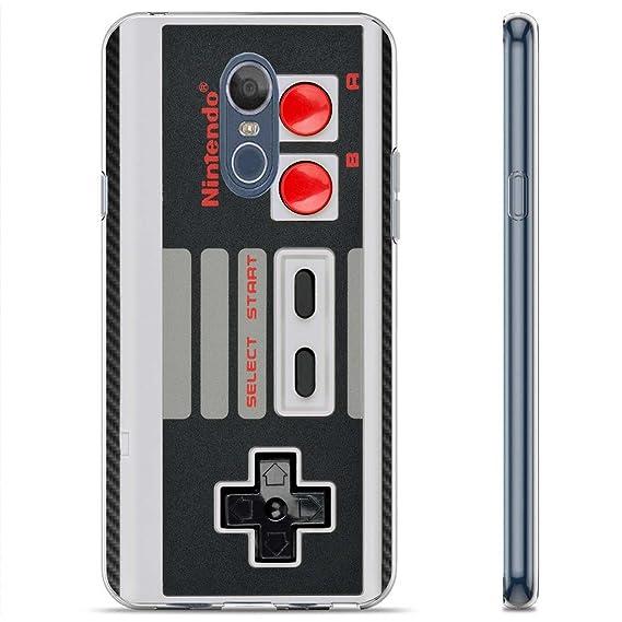 super popular 0b80e 9cf05 [SlickCandy] LG LG Stylo 4/Q Stylus [Clear] Total Defender Soft Slim Phone  Case [Nintendo Controller Print]
