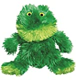Kong Sitting Frog Dog Toy Small, Green