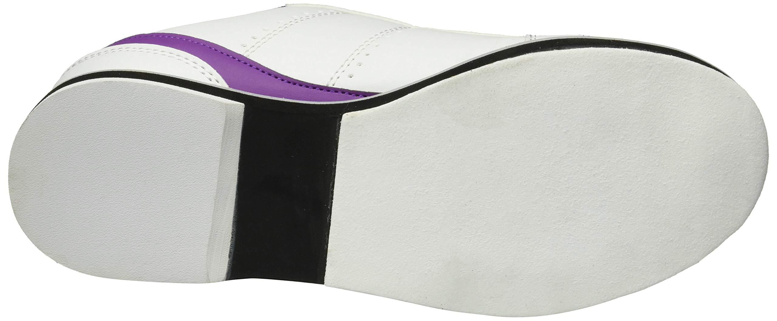 BSI Women's 460 Bowling Shoe, White/Purple, Size 10 by BSI (Image #3)