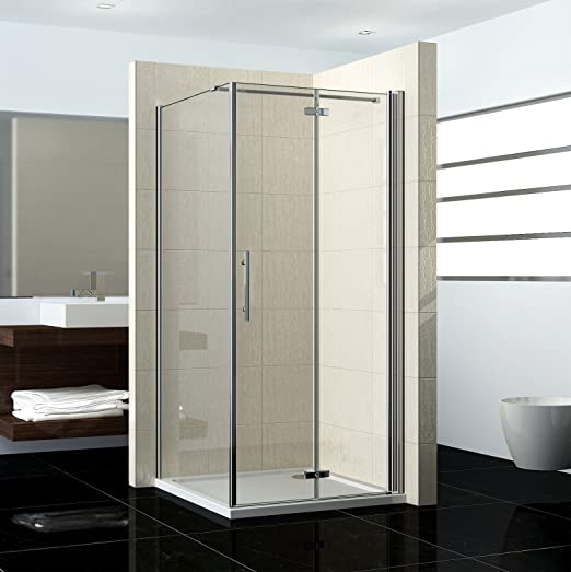 76 x 76 x NS9 – Cristal drehfalt Puerta Mampara de ducha puerta de ...