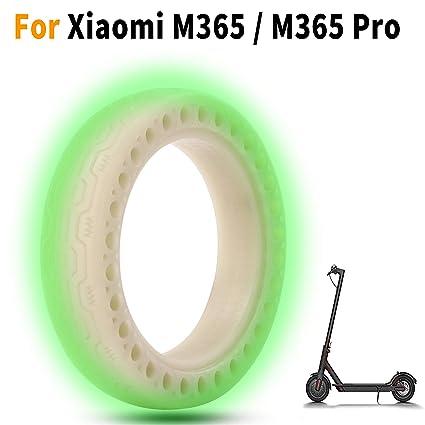 EMEBAY - Neumático de fluorescents Rueda de Repuesto de 8,5 Pulgadas de células sólido 8 1/2X2 para Delantero/Trasero de neumáticos Xiaomi Mijia M365 ...