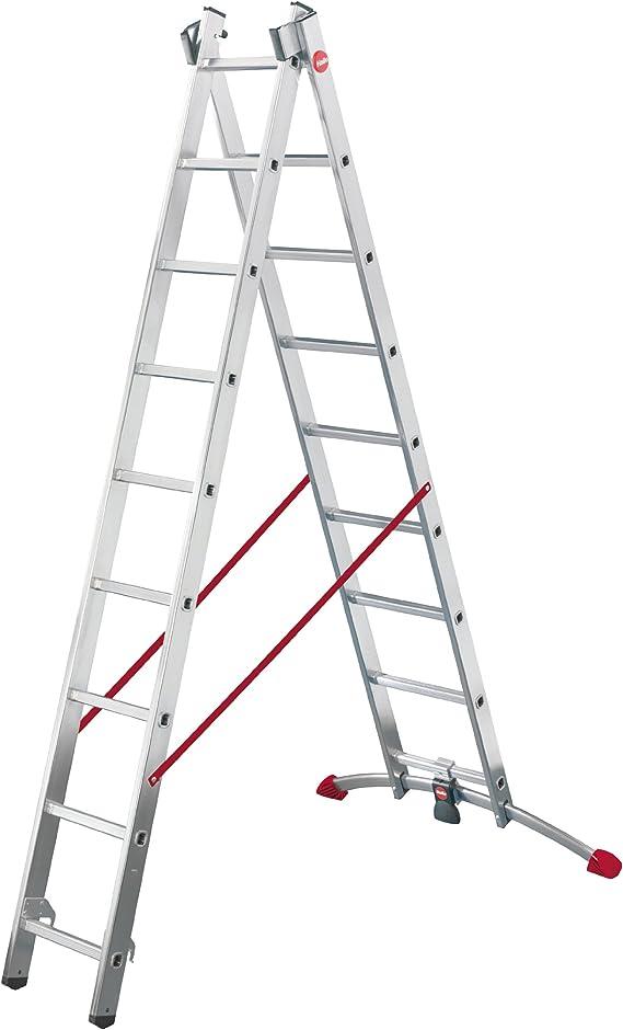 Hailo 9409-501 Escalera multifunción, plateado: Amazon.es: Bricolaje y herramientas