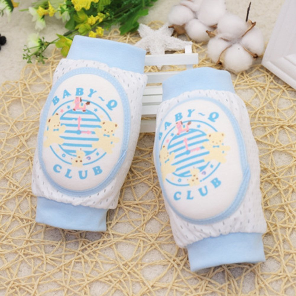 bjduck99 Toddlers Kids Soft Breathable Sponge Knee Pads Protector Support Leg Warmers