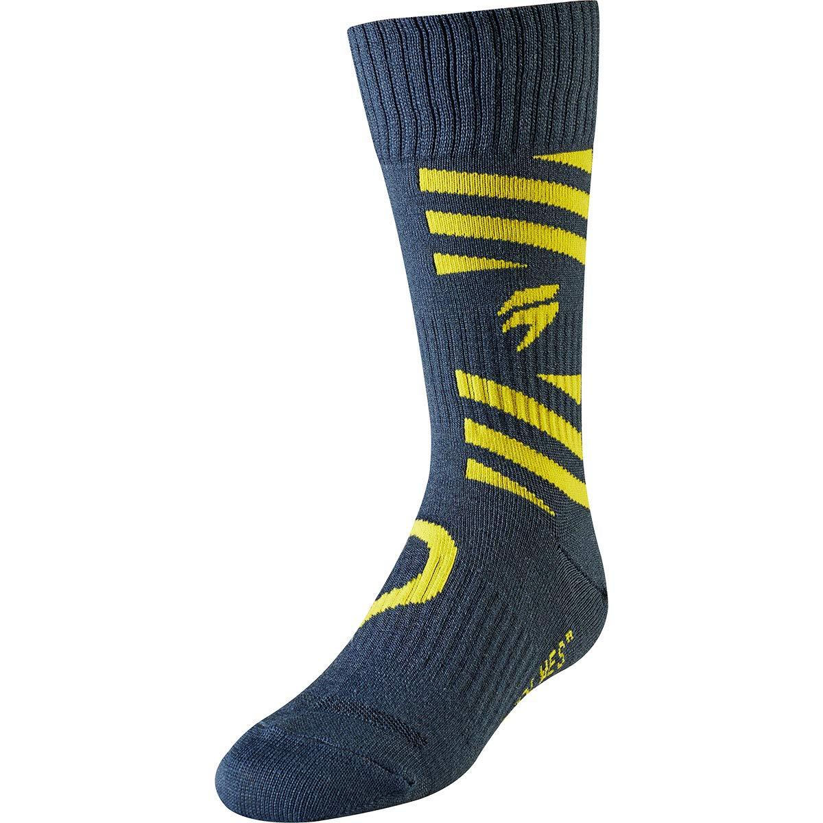 Shift 2019 Youth White Label Socks - Muse (Large/X-Large) (Navy/Yellow)
