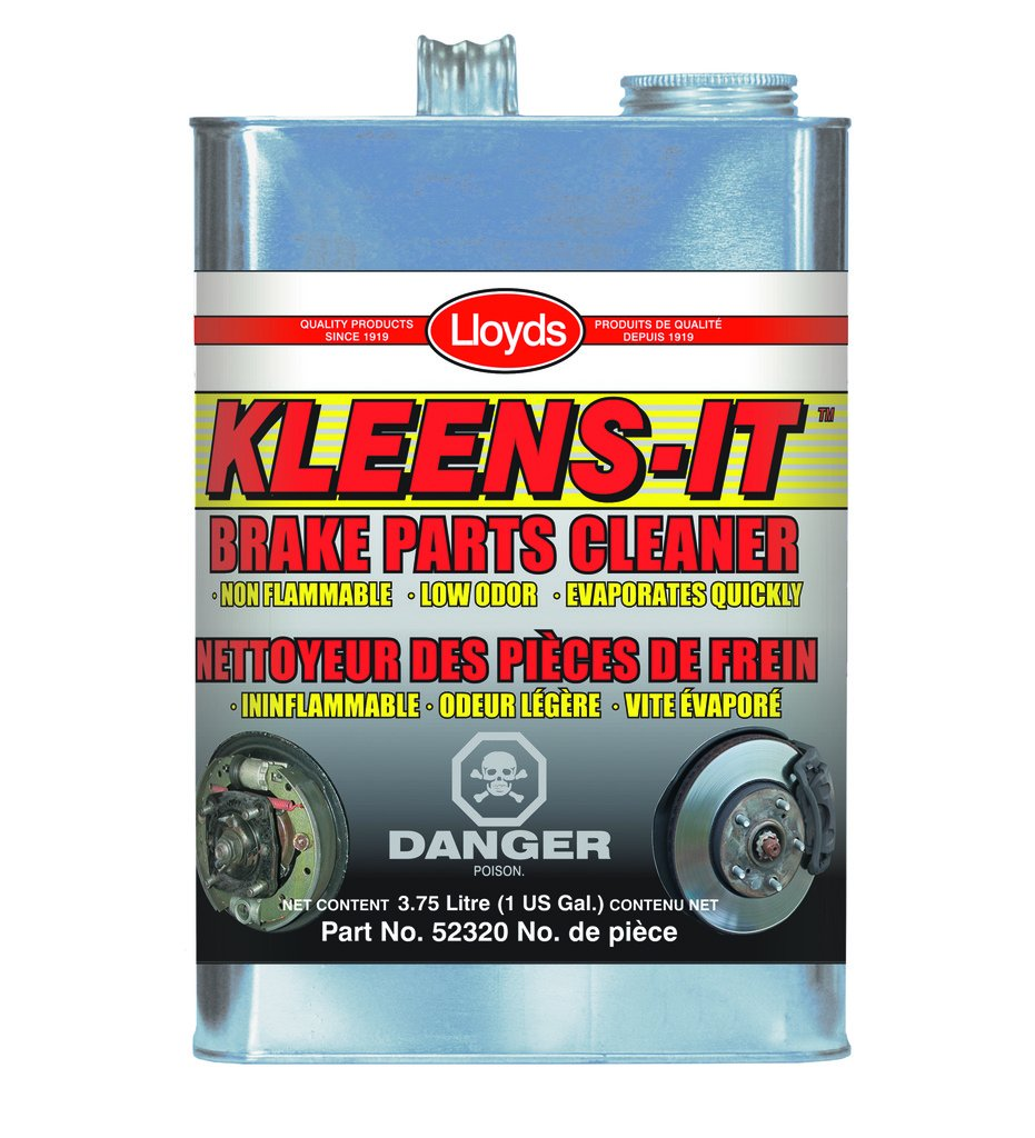 Kleens-It Non Flammable Brake Parts Cleaner, 52304, 3.75 L (1 gal) jug