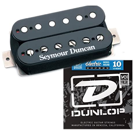 Seymour Duncan SH-4 JB Modelo negro Humbucker Pastilla para guitarra eléctrica w/cuerdas