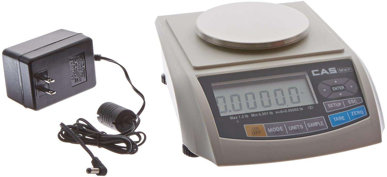 Cas mwp-600h mwp-series alta precisión Micro Peso Banco báscula con gran capacidad de plato, 600 g, 0,01 G legibilidad: Amazon.es: Amazon.es