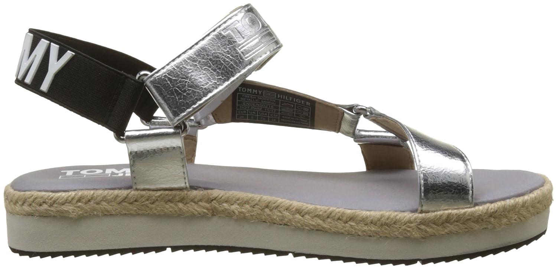 Tommy Sandal Femme Modern arrière Jeans Fresh Metallic Bride 8S78rq