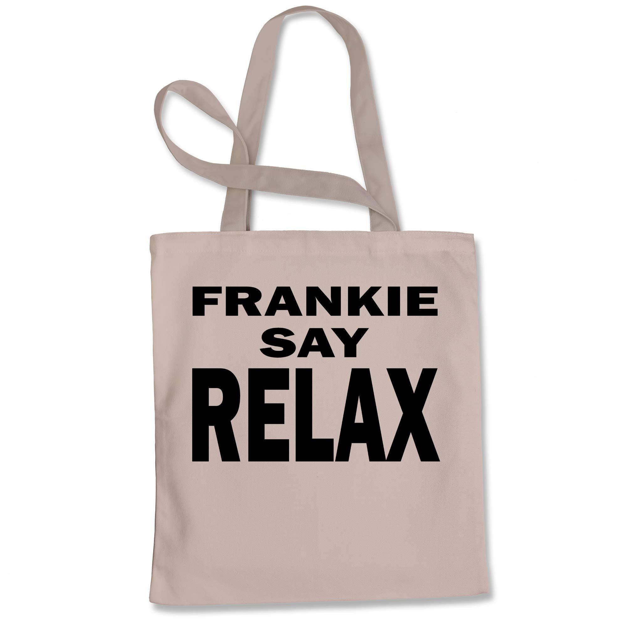 Tote Bag Frankie Say Relax Natural Shopping Bag