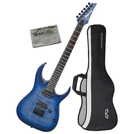Ibanez RGA42FMBLF RGA Standard - Guitarra eléctrica (plana, con ...