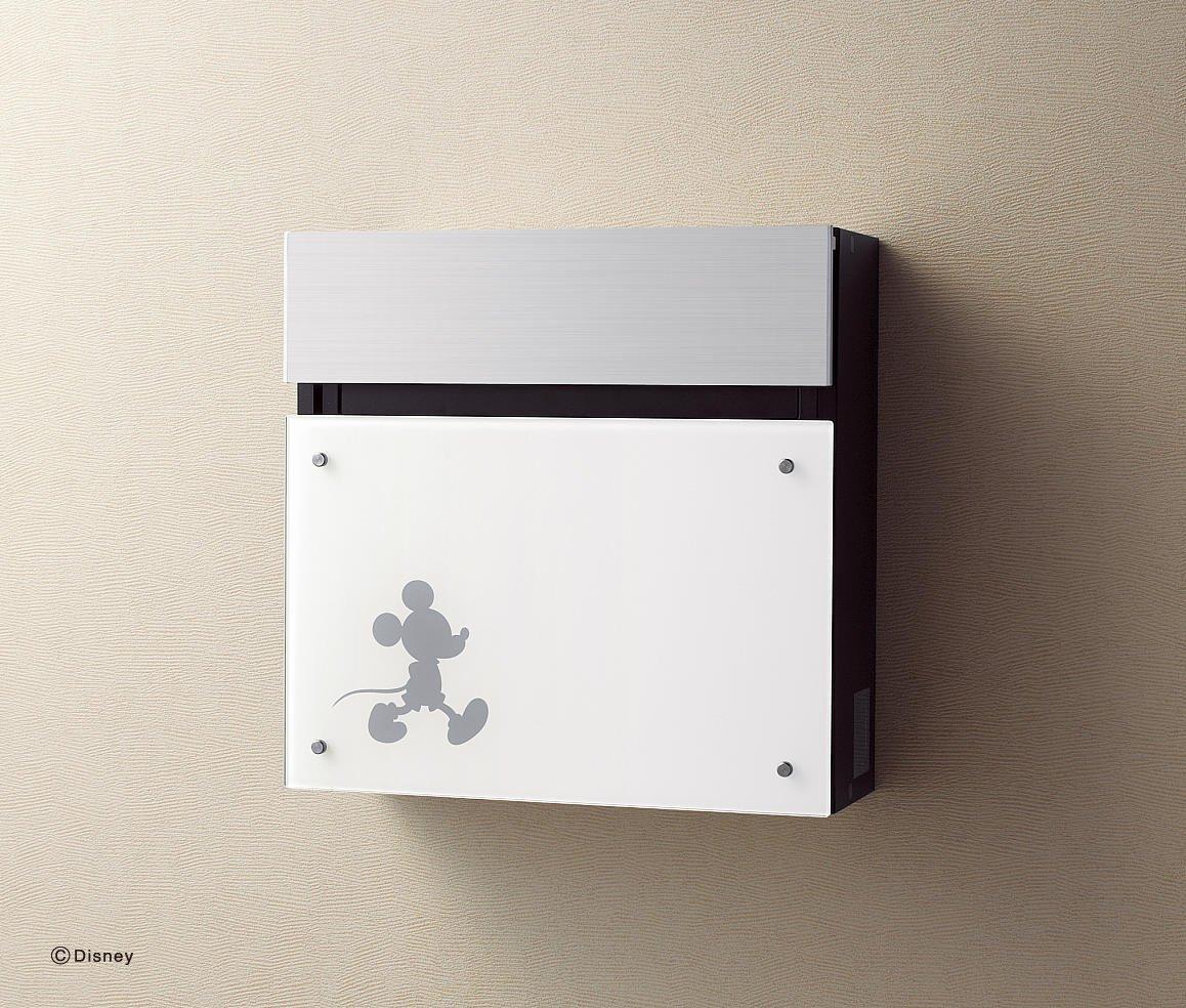 郵便ポスト 壁付けポスト FASUS FF ディズニーシリーズ フェイサス M-2タイプ CTCR2003WMT パナソニック B00QX12MYM