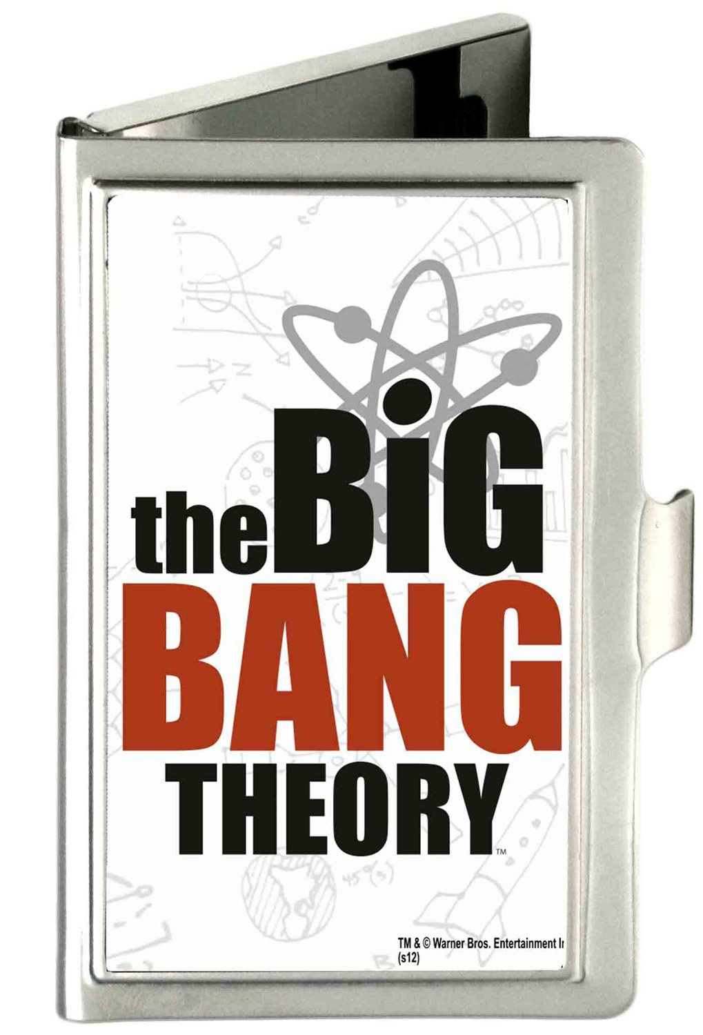 Buckle-Down Business Card Holder Small THE BIG BANG THEORY White//Black//Red