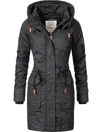 Khujo Mell Veste en Coton d hiver pour Dame 5 Couleurs XS-XXL ... 108b80d1c1
