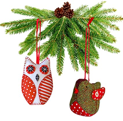 Easy 2 X Felt Christmas Decoration Ornament Sewing PATTERNS House /& Elf Boots