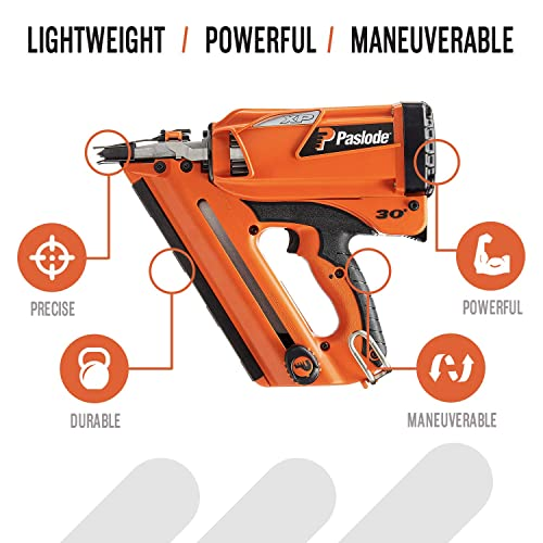 Paslode – 905600 Cordless XP Framing Nailer – Battery and Fuel Cell Powered – No Compressor Needed
