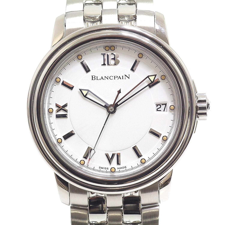 [ブランパン] BLANCPAIN メンズ時計 レマン ウルトラスリム 2100-1127-11 ホワイト文字盤【中古】 B07D6Z4J8X