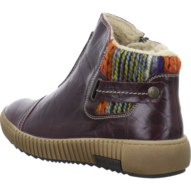 Josef Seibel Maren 07 Womens Leather Matt Brown Ankle Boots