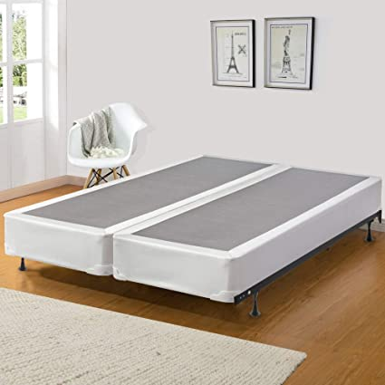 Spinal Solution 8 Inch Queen Size Fully Assembled Split Foundation Box Spring For Mattress Sensation Collection