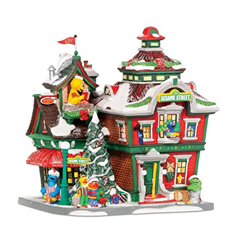 Collectibles Dept 56 Accessories Christmas Gifts From Elmo