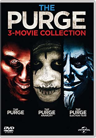 The Purge - 3-Movie Collection (DVD + Digital Download)