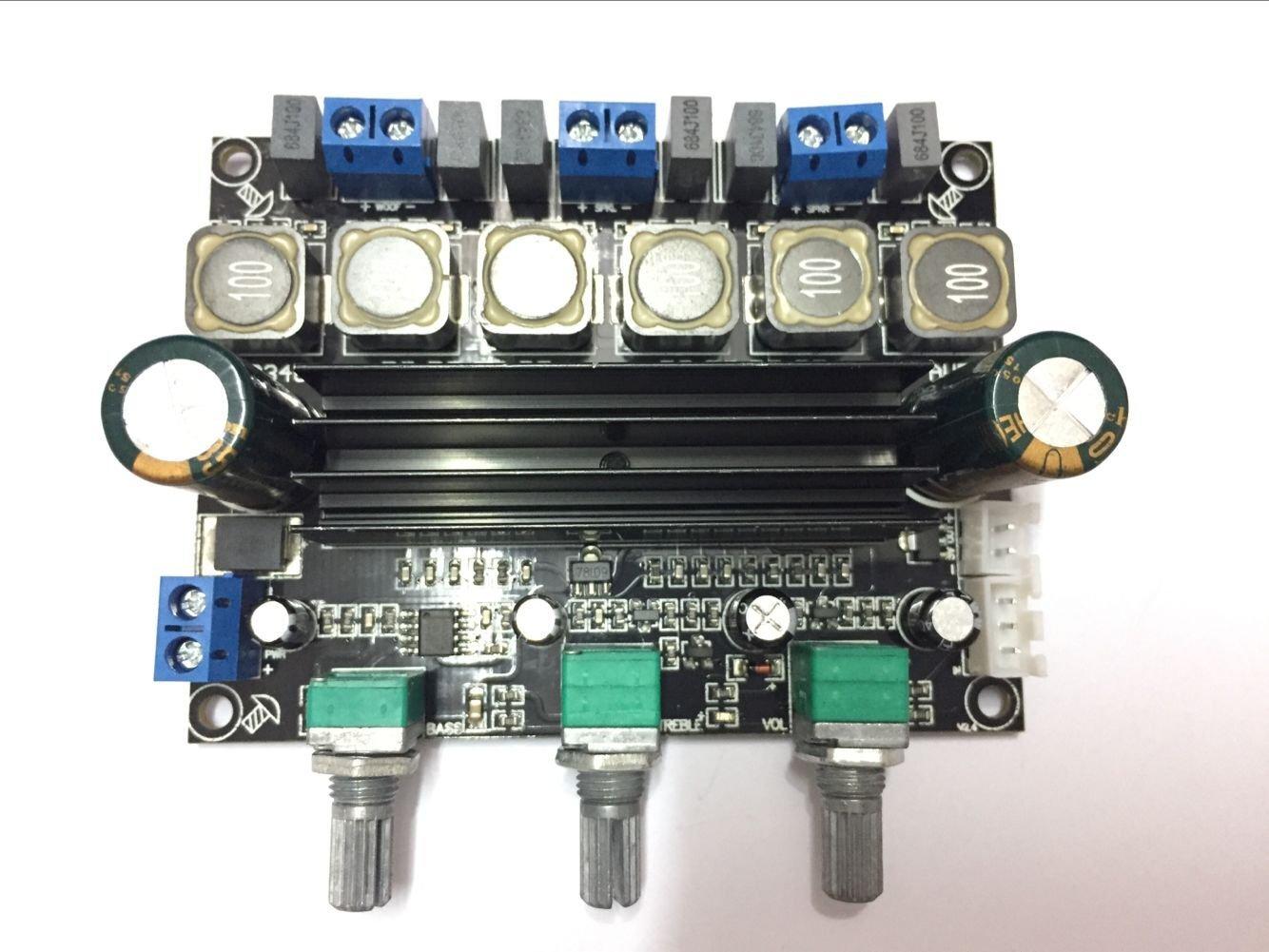 TPA3116D2 alta potenza HIFI digitale 2.1 sovrappeso amplificatore subwoofer scheda DC10-25V LIDONGDIANZI