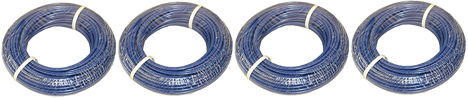 PureSec 2018 CCK Red PE Tubing//Hoses 1//4 Inch OD x 0.142 Inch ID at 70/°F-120PSI to 150/°F-60PSI for RODI Systems 30