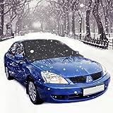 Protezione parabrezza antighiaccio con, Aodoor Auto Copertura Parasole Invernale Anti-Gelo per Magnetic Parabrezza neve, adatto per la maggior parte dei veicoli (210 x 120cm)