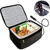 Portable Oven 12V Personal Food Warmer,Car Heating Lunch Box,Electric Slow Cooker For Meals Reheating & Raw Food Cooking…