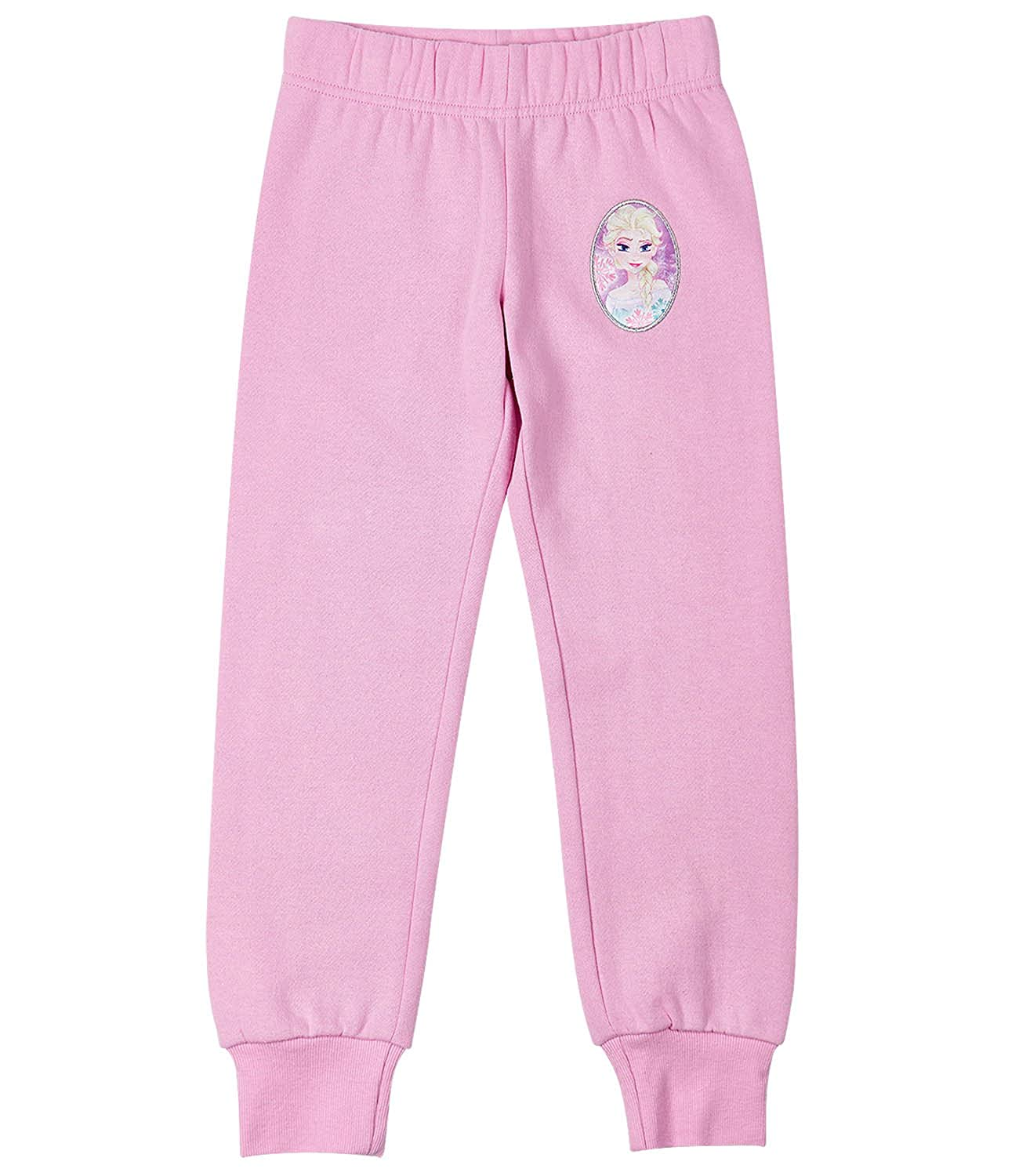 Disney Frozen Elsa & Anna Girls Jogging Pants - Pink 161246
