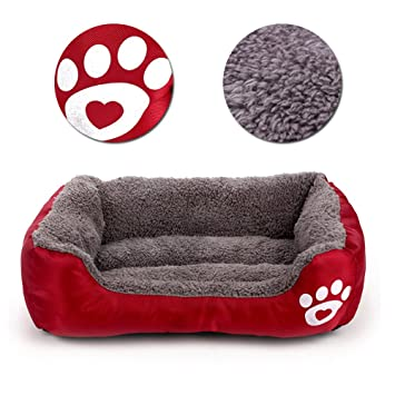 Cuna para perros, bonice alfombrilla para cojín y transpirable, suave para un cucciolanimale doméstico