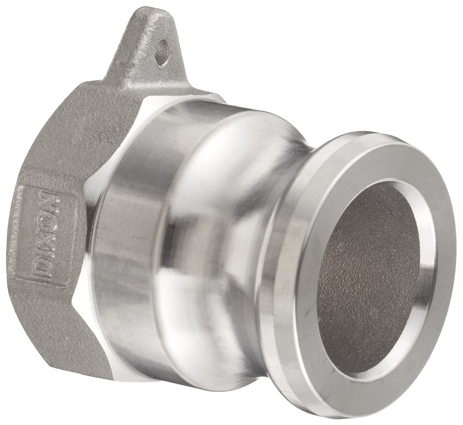 Dixon G100-A-SS Investment Cast Stainless Steel 316 Global Type A Cam and Groove Hose Fitting, 1' Plug x 1' NPT Female 1 Plug x 1 NPT Female Dixon Valve & Coupling