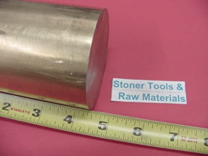 "2-3//4/"" C360 BRASS ROUND ROD 4-1//2/"" long Solid 2.75/"" Diameter H02 Lathe Bar Stock"