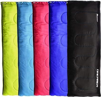 Hiking For Traveling Camping Indoor /& Outdoor Activities Premium 200 Warm Lightweight Envelope Sleeping Bag