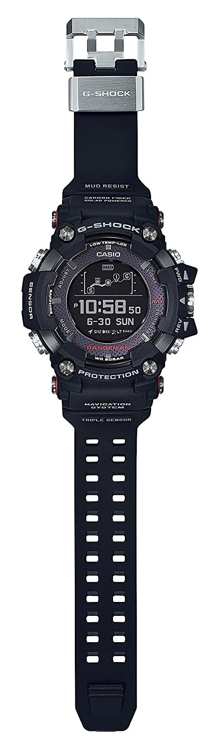 956ff708b0d5 Amazon.com  Casio G-SHOCK RANGEMAN Solar-Assisted GPS Navigation  GPR-B1000-1JR Mens Made in japan (JAPAN IMPORT)  Watches