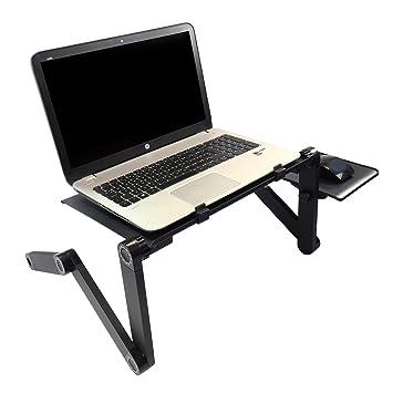 Portátil plegable portátil mesa plegable ordenador PC portátil cama escritorio bandeja de sofá zizzi
