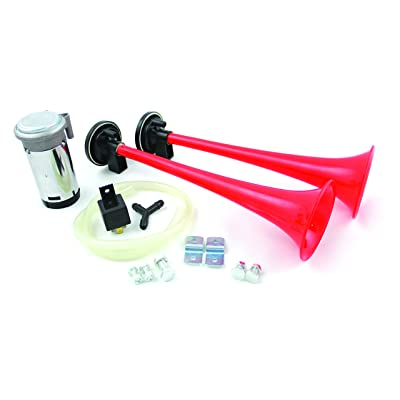 "FIAMM 66040"" Big Boss 2 Long Trumpet Horns with HVY Duty 12 V Compressor Kit (Pack of 10): Automotive"