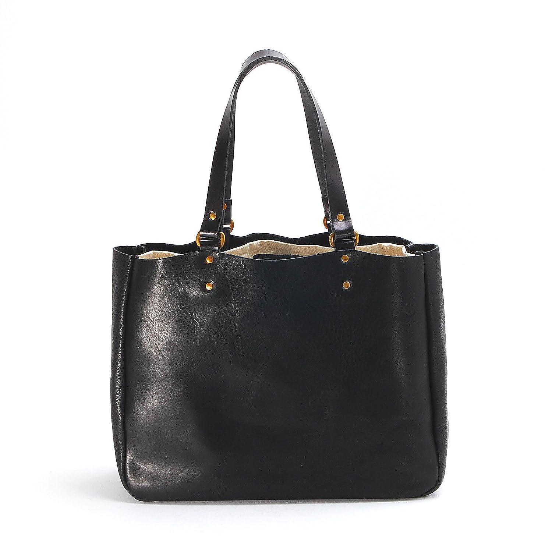 スロウ トートバッグ tote bag width type bono 4920003 B07D74Z4LR ブラック ブラック