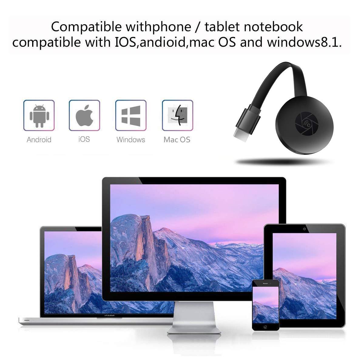Amazon.com: 4K WiFi Wireless Display Dongle 4K Mini Receiver ...