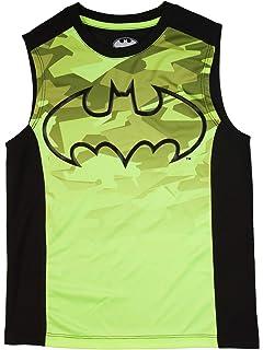 a3f7d699 Amazon.com: Boys Sleeveless Muscle Tank Top T-shirt Navy - Superman ...