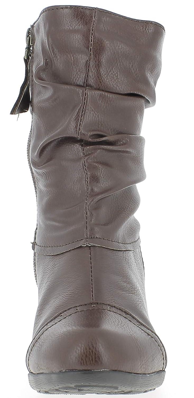 Andrea Conti 0616628, Botines para Mujer, Braun (Dunkelbraun 061), 40 EU: Amazon.es: Zapatos y complementos